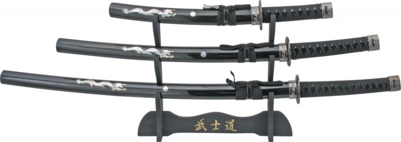 Samurajsvärd set